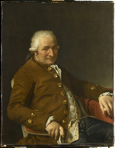 Charles-Pierre Pécoul, entrepreneur des Bâtiments du Roi, beau-père de l'artiste.