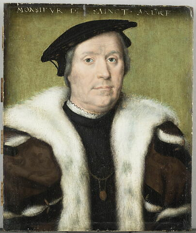 Jean d'Albon, seigneur de Saint-André (1472-1549), chambellan d'Anne de Bretagne en 1502, gouverneur de Henri de France (futur Henri II) en 1530.