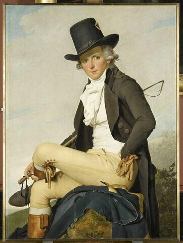 Pierre Sériziat (1757-1847), beau-frère de l'artiste.