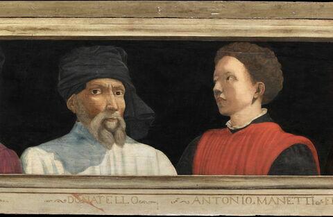 face, recto, avers, avant ; détail © 2012 RMN-Grand Palais (musée du Louvre) / Tony Querrec
