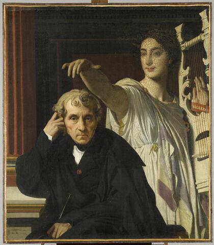 Le compositeur Cherubini et la Muse de la poésie lyrique