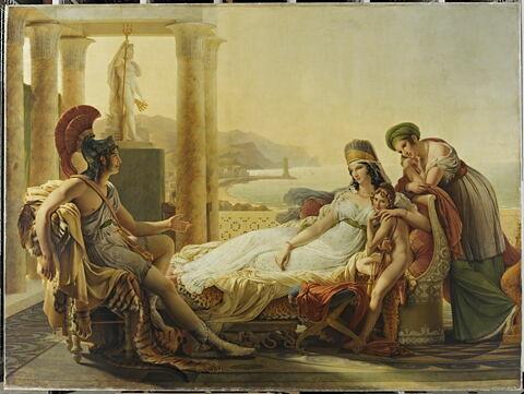 Didon. Énée racontant à Didon les malheurs de la ville de Troie