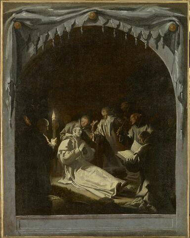La Mort de saint Bruno (en 1101)