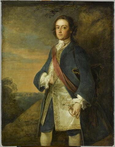 Portrait d'un officier anglais
