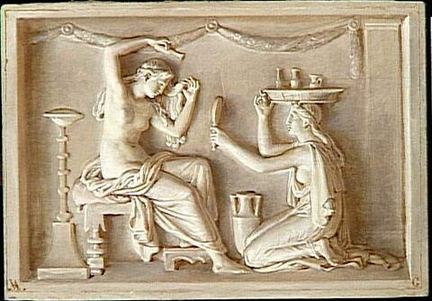 Décor: Huit scènes de la vie antique