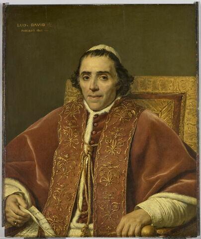 Pie VII (1742-1823), élu pape en 1800.