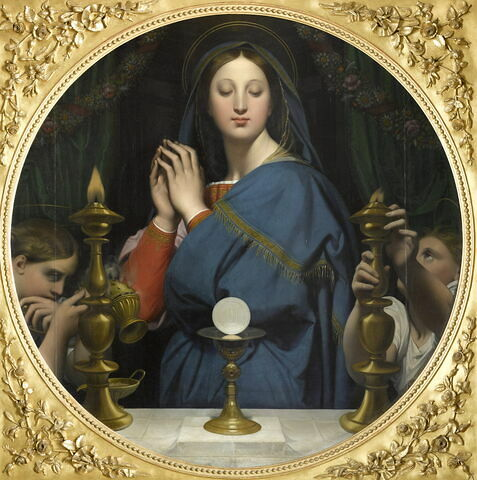 La Vierge à l'hostie