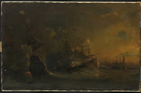 Combat livré sur les côtes d'Afrique par le chevalier des Augers à une escadre hollandaise (12 avril 1706)