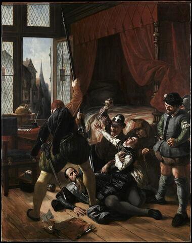 Scène de la Saint Barthélemy