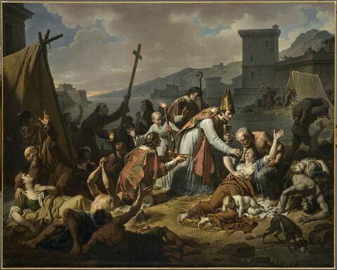 Le Dévouement de monseigneur de Belzunce (1671-1755), évêque de Marseille, durant la peste qui désola cette ville en 1720