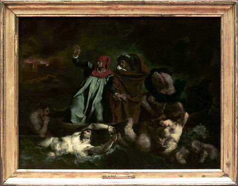 face, recto, avers, avant ; vue d'ensemble ; vue avec cadre © 2001 Musée du Louvre / Peintures