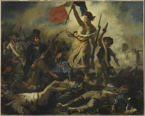 La Liberté guidant le peuple (28 juillet 1830)