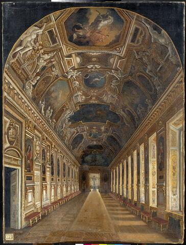 La Galerie d'Apollon au Musée du Louvre.
