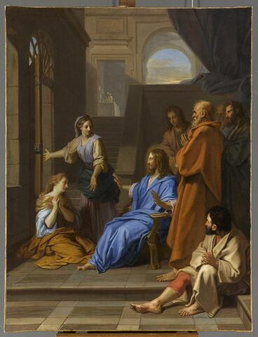 Jésus Christ chez Marthe et Marie