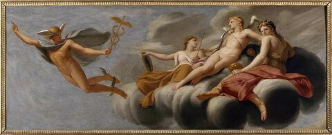 L'Amour ordonne à Mercure d'annoncer son pouvoir à l'univers