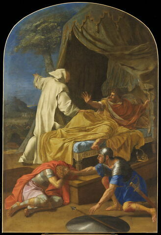 Apparition de saint Bruno au comte Roger