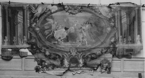 Allégorie de la fondation du Musée historique de Versailles