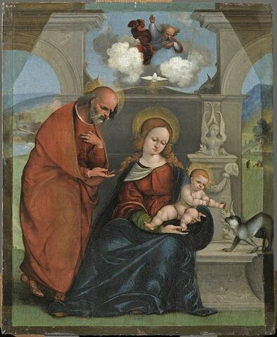 La Sainte Famille et la Sainte Trinité