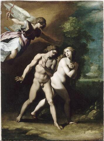 Adam et Ève chassés du Paradis terrestre