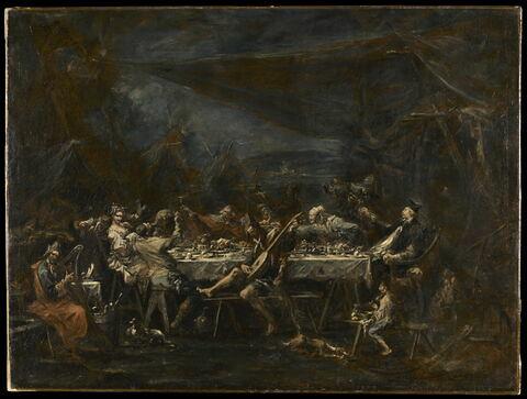 Banquet nuptial de bohémiens