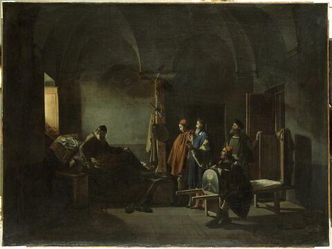 Le peintre Sodoma porté à l'hôpital