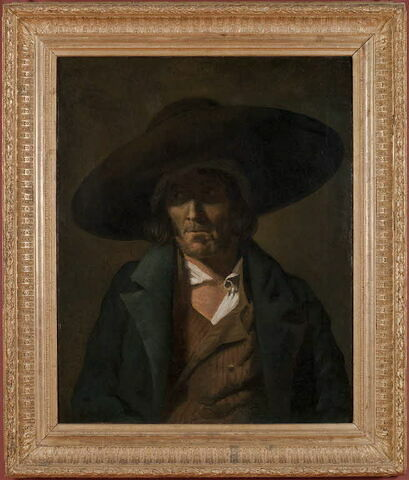 face, recto, avers, avant ; vue d'ensemble ; vue avec cadre © 2010 Musée du Louvre / Peintures