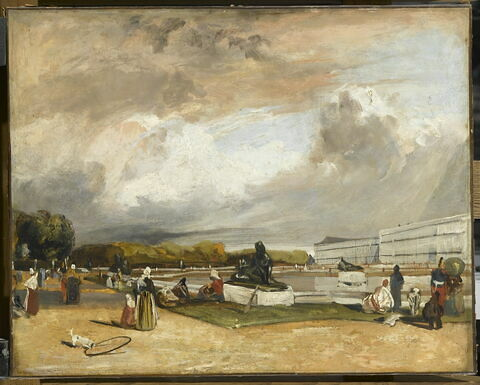 Le parterre d'eau à Versailles