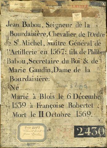 dos, verso, revers, arrière ; vue d'ensemble ; vue sans cadre © 2011 RMN-Grand Palais (musée du Louvre) / Stéphane Maréchalle
