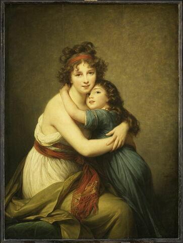 Madame Vigée-Le Brun et sa fille, Jeanne-Lucie-Louise, dite Julie (1780-1819)