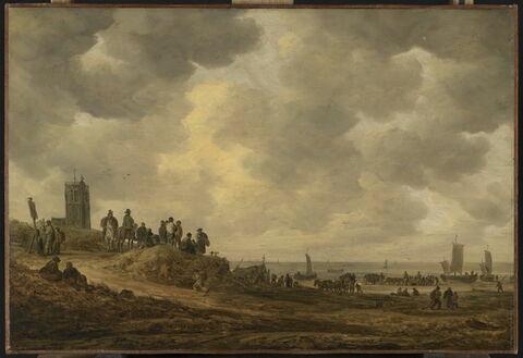 Plage près d'Egmond (Pays-Bas)