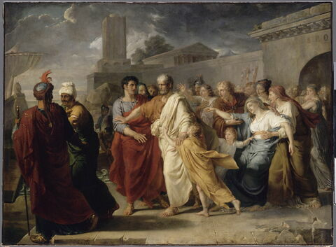 Le Départ de Régulus pour Carthage