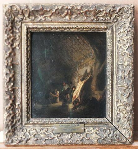 face, recto, avers, avant ; vue d'ensemble ; vue avec cadre © 2017 Musée du Louvre / Peintures