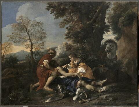 Tancrède soigné par Herminie et Vafrin