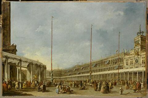 Le Doge de Venise suit la procession du Corpus Domini sur la place Saint-Marc