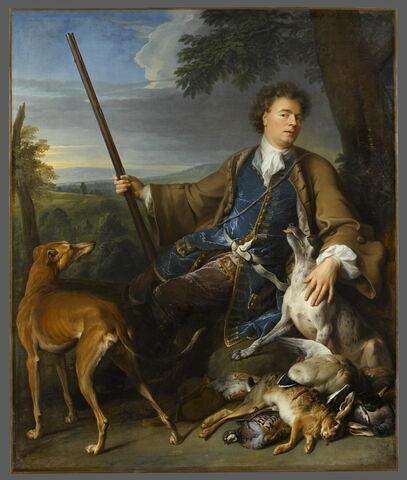 Portrait de l'artiste en chasseur.