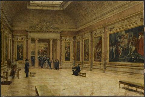 La salle Rubens au Musée du Louvre