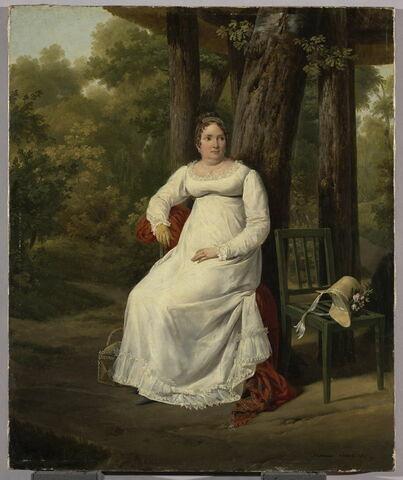 Madame Jousseran, belle-mère de Philippe Lenoir
