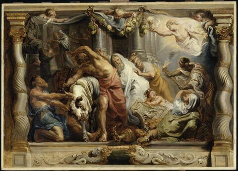 La Victoire de l'Eucharistie sur le paganisme