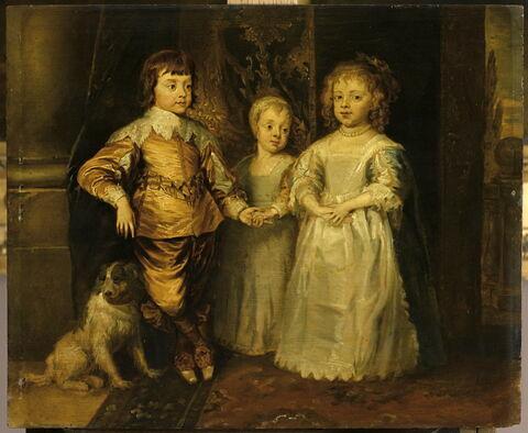 Portrait des enfants de Charles 1er d'Angleterre