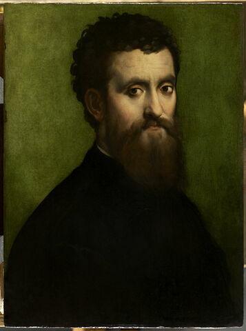 Portrait d'homme, dit autrefois Portrait de Giulio Romano