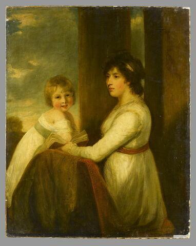 Portrait de Lady Musgrave avec un de ses enfants