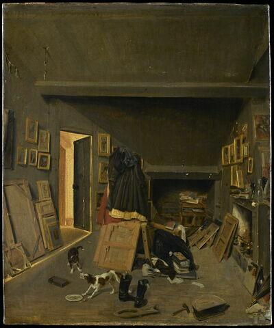 Le grenier du peintre
