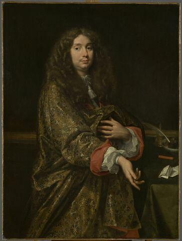 Portrait d'homme en perruque