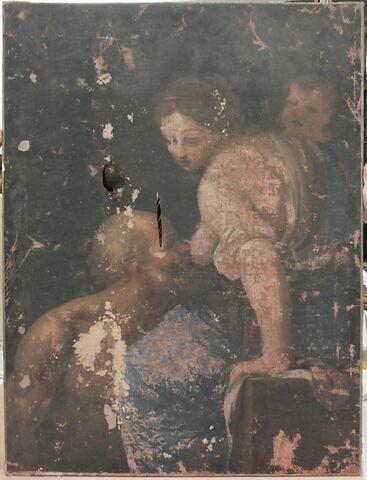 face, recto, avers, avant ; vue d'ensemble ; vue sans cadre © 2013 Musée du Louvre / Peintures