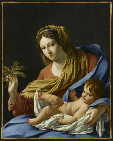 Vierge au rameau de chêne, dite Madone Hesselin