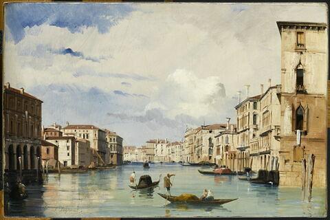 Vue du Grand Canal à Venise