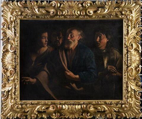 face, recto, avers, avant ; vue d'ensemble ; vue avec cadre © 2008 Musée du Louvre / Harry Bréjat