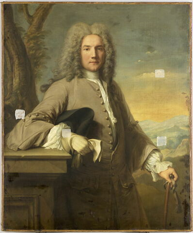 Portrait du marquis de Villeneuve