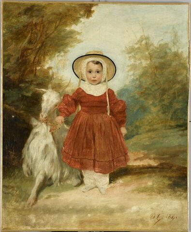 Portrait de A. Bés fils, enfant