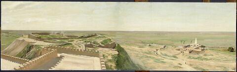 Panorama des ruines de Suse (côté sud)